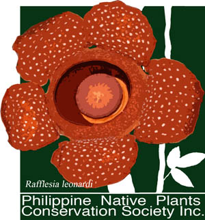 Philippine Native Plant Conservation Society Logo